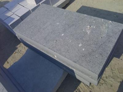 G370 black granite paving slabs