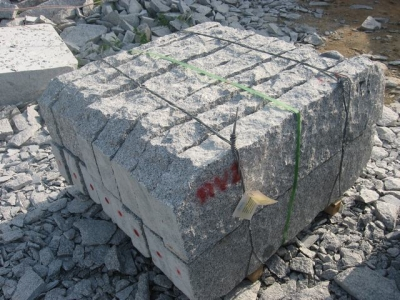 Rough split surface RV series curbstone for Sweden