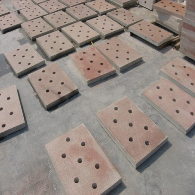 g386 red granite sewer cover stone