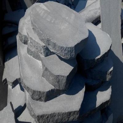 Garden culture paver, oval stone, antique stone