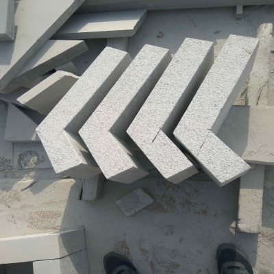 G358 grey granite quoins, corner stone