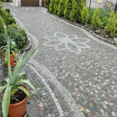 街道、园林方块地铺石