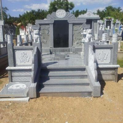 传统家族高档墓碑